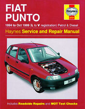 3251 Haynes Fiat Punto Petrol & Diesel (1994 - Oct 1999) L to V Workshop Manual