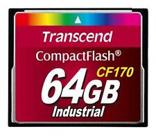 64GB Transcend CF 170X Speed Industrial CompactFlash Memory Card