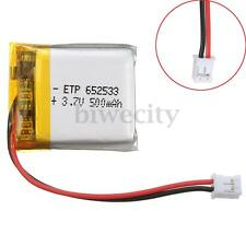 500mAh 3.7V Rechargeable Polymer Battery For Nintendo GBM Game Boy Micro Game