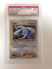 Pokemon PSA 9 MINT 2001 Game Boy LUGIA Holo Japanese Promo Card