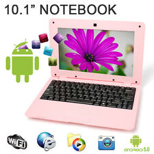 """New 10"""" 1.5Ghz WIFI Android 5.0 Pink Mini PC Notebook Laptop Computer Netbook"""