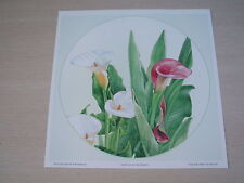 Art Prints/Paper Tole Kit - Pink and White Lillies PLUS FREE GIFT