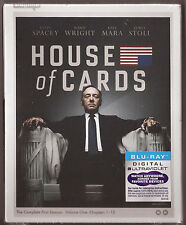 House of Cards Season 1 - Blu-ray + Digital UV TV Show First BRAND NEW