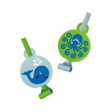 8 Ocean Baby Whale Octopus Baby Shower Birthday Party Favor Loot Blowouts
