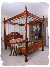 PARADISE DOUBLE BED BEDROOM BED FOUR POSTER BED BALDACHIN FRENCH