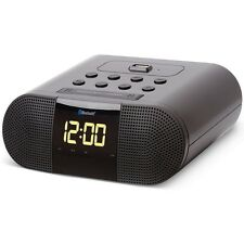 SoundLogic™ XT Wireless Bluetooth Digital Alarm Clock Radio w/ USB Charging Port