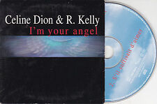 CD CARDSLEEVE CELINE DION & R.KELLY 2T I'M YOUR ANGEL + S'IL SUFFISAIT D'AIMER