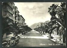 Chiavari ( Genova ) : Viale N. Arata - cartolina viaggiata nel 1951