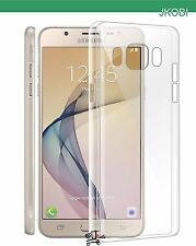 Premium Soft Silicone TPU Clear Back Case Cover For Samsung Galaxy On8
