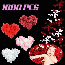 BURGUNDY 1000 PCS SILK ROSE PETAL FLOWER DECORATION EVENT CELEBRATION FESTIVAL