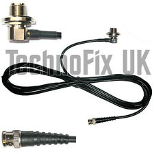 SO239 antenna mount base, 4m cable to BNC plug, for aerials with PL259 fitting