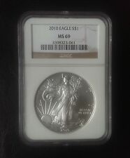 2010 American Silver Eagle Ngc Ms-69