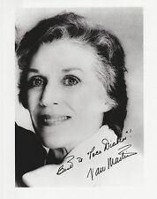 NAN MARTIN HAND SIGNED PRO PUBLICITY PHOTO JSA COA FILM & TV ACTRESS