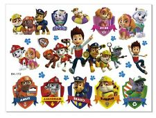 KIDS Temporary PAW PATROL Tattoo Good Quality Great for Party Bags