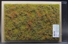Model Scene F510 - Premium Grass Mat (low bushes autumn colour) diorama scenery