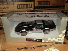 UT 1978 Chevy Corvette Pace Car Indy 500 Race 1:18 Scale Diecast Model 21070 Car