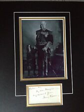 HENRY KEPPEL - ADMIRAL OF THE FLEET - IN MANY CONFLICTS - SIGNED PHOTO DISPLAY