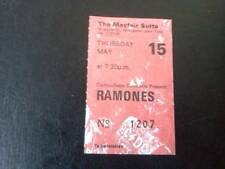 The Ramones ticket Mayfair Suite Newcastle 15/05/86