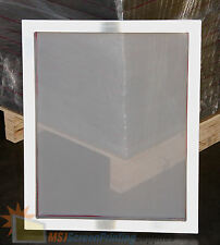 4 Pack - 20x24 Aluminum Frame Size - 156 White Mesh Silk Screen Printing Screens