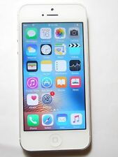 Apple iPhone 5 16GB White & Silver Phone Factory GSM Unlocked for ATT & T-Mobile