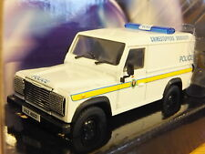 CORGI 999 VANGUARDS RUC ULSTER POLICE LAND ROVER DEFENDER CAR MODEL CC07712 1:43
