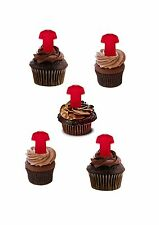 34 PRECUT FOOTBALL SHIRTS ANY TEAM STAND UP EDIBLE CUPCAKE FAIRY CAKE TOPPERS