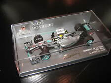 1:43 Mercedes GP w01 N. rosberg 2010 410100004 Minichamps Ovp New