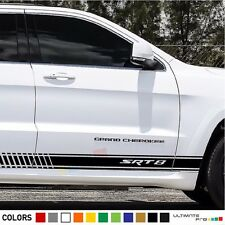 Sticker Decal Stripe kit for Jeep Grand Cherokee srt8 mirror graphics sport body