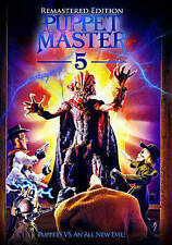 Puppet Master 5: Remastered Edition (DVD) BRAND NEW SEALED