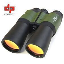 Day/Night 30X50 Multi-Coated Military Green Zoom Binoculars w/Pouch Hunting 8406