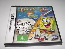 Spongebob Drawn to Life Nintendo DS 3DS 2DS Game Preloved *Complete*