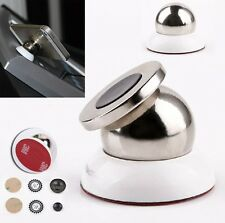 Rotary Auto Mount Cell Phone Ball Holders Universal Magnetic Steel for iPhone