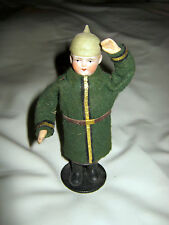 antique candy container doll soldier bisque head /Germany