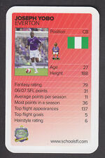Schools Fantasy League 2007/08 - # 36 Joseph Yobo - Everton