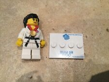 *RARE* Lego Minifigure Olympic Series Team GB Judo Fighter