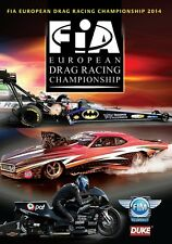 FIA European Drag Racing Championship Review 2014 (New DVD) Nataas Alund King