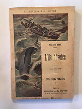 L'ILE DESOLEE VOL 1 THEODORE CAHU COLLECTION GUYOT