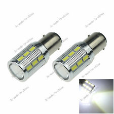 2X White 1157 BAY15D 18 5630 1 Cree Q5 LED Car Signal Rear Light Bulb Lamp E070