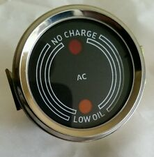 DAVID BROWN IMPLEMATIC TRACTOR OIL & CHARGE GAUGE