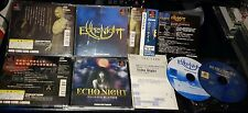 ECHO NIGHT 1 2 ECHONIGHT FROM SOFTWARE COMPLETE PSX NTSC JAPAN PLAYSTATION PS2