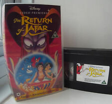 Aladdin The Return Of Jafar (animated) Disney VHS Video