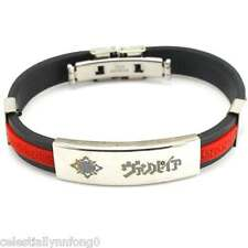 Anime Vampire Knight Kuran Yuuki Silicone Bracelet Wristband Bangle Cuff Cosplay