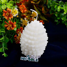 Nicole LZ0011 Handmade 3D Xmas Tree Silicone Molds For Candle Soap Making Resin