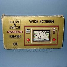 VINTAGE 1981 NINTENDO GAME & WATCH PARACHUTE PR-21 SINGLE SCREEN HANDHELD BOXED
