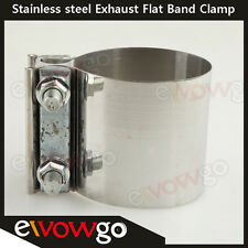 "2.25"" Stainless steel 2 1/4"" inch Exhaust Flat Band Clamp"