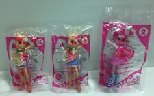 "Doll - My Little Pony MLP 3 EQUESTRIA GIRLS 5"" From McDonalds NEW"