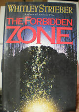 FORBIDDEN ZONE Whitley Strieber 1st Edition 1993 Horror Hardcover & Dust Jacket