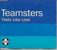 TEAMSTERS - Feels like love CDM 8TR Promo Electro House UK 2006