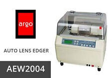SEMI AUTO LENS EDGER ARGO AEW2004 W/PATTERN MAKER AND LOCAL CENTER METER 110/220