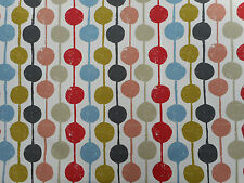 Harlequin/Scion Fabric 'Taimi' 1.25 METRES (125cm) Kiwi/Poppy/Charcoal - Cotton